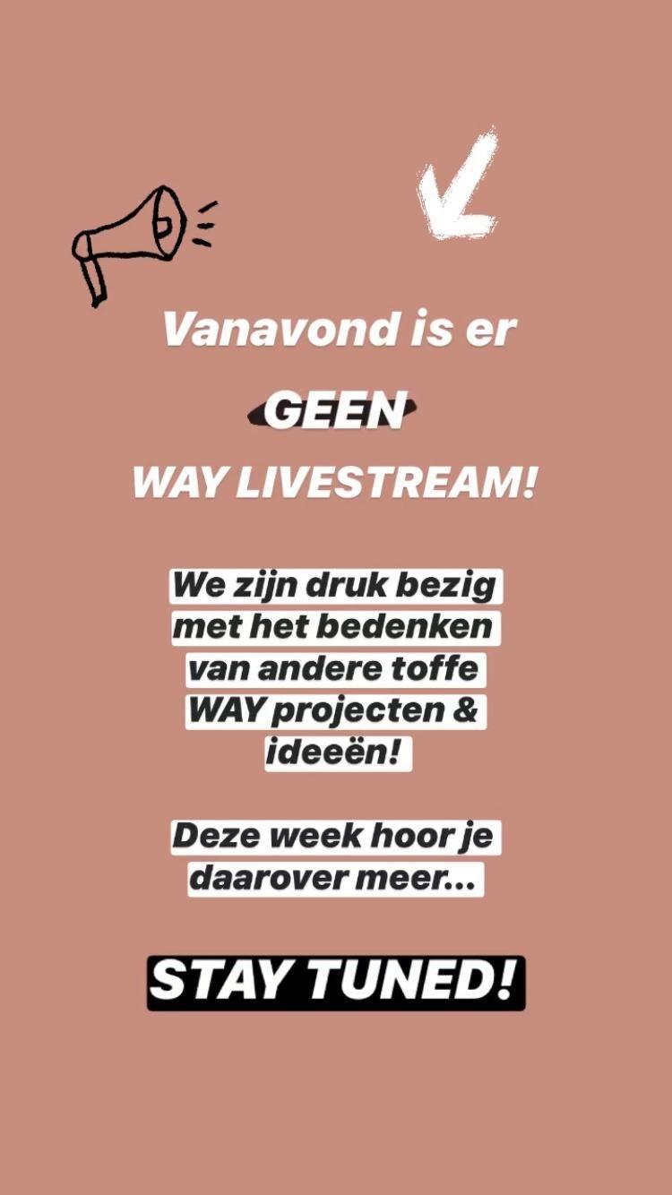 Livestream on hold