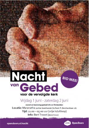 Nacht van Gebed in Veenendaal