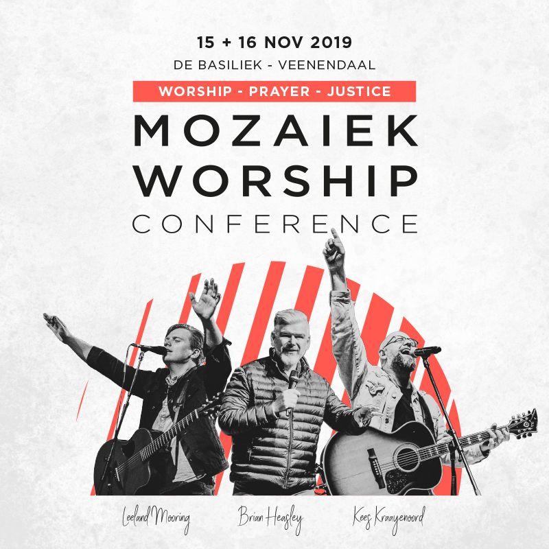 Kom naar de Mozaiek Worship Conference!